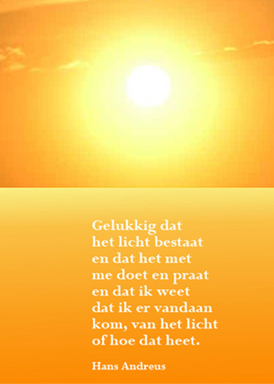 gedicht positief denken